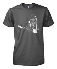 More details for jimi hendrix inspired music t shirt - retro guitar hero legend unofficial new