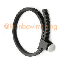 Flexible Adjustable Lens Gear Ring Belt for DSLR Lens Follow focus 15mm Rig