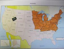 Topo Map Card For Garmin Astro 220 320 Micro Sd North East Us