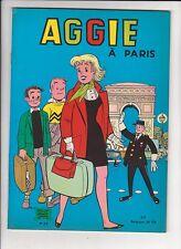 AGGIE 23. Aggie à Paris. SPE 1970. EO.
