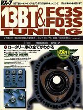 [BOOK] Mazda RX-7 13BT FC3S FD3S tuning manual efini rotary engine Japan