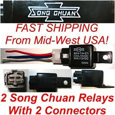 1 X Song Chuan Power Relay Only 12v 804-1a-c1 30a Coil 12vdc Fast USA Shipped