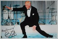 Bruce Forsyth SIGNED 12x8 Photo Autograph Strictly Come Dancing AFTAL & COA