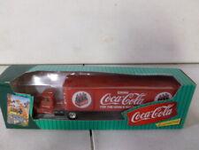 Ertl Coca Cola Tractor Trailer Bank 1/64