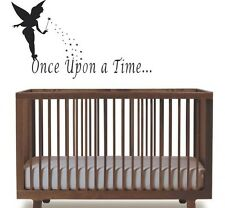 Once Upon a Time Wall Decor Removable Vinyl Decal Sticker Home Art Mural Kids