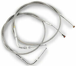 BARNETT PERFORMANCE CLEAR COAT STAINLESS STEEL CLUTCH CABLES 102-30-10014-04
