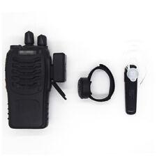 USB Wireless Bluetooth Walkie Talkie PTT Headset for Two Way Radio Baofeng UV-5R