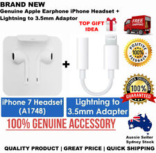 Genuine Apple Earpods Earphones Headphones IPhone X 8 7 Plus Lighting Adaptor