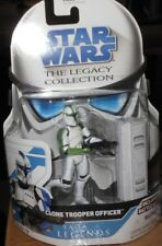 STAR   WARS    CLONE  TROOPER  OFFICER  yr.2008  Action  Figure