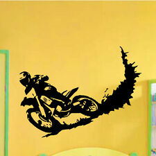 Wall Vinyl Decals Motocross Dirty Bike Moto Bike Decal Sticker Home Decor Z620
