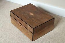 Victorian rosewood document box