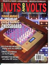 Nuts and Volts Magazine January 2017 Build Your Own Electronic Chessboard - NEW