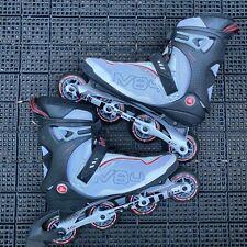 New listing K2 Moto M84 Exo Tech ILQ7 84mm Wheel Inline Skates Rollerblades Mens Size 11 EUC
