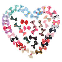 10Pcs/lot Baby mini Bow Hairpins Girls Hair Accessories Kids Hair Clips  MC YAN
