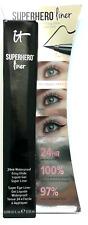 IT Cosmetics SUPERHERO LINER ~ SUPER BLACK ~ 24Hr Waterproof .018 oz NIB