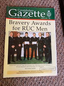 RUC ROYAL ULSTER CONSTABULARY POLICE NORTHERN IRELAND - GAZETTE n