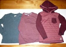 CIRCO OLD NAVY DISTORTION KIDS BOYS LONG SLEEVE SHIRT LOT OF 3 - SIZE 5T/5/M