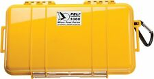 Peli 1060 Micro Case - Yellow with Black Liner