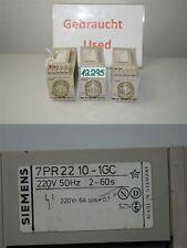 siemens Relais timer 7PR2210-1GC Ritardante-tempo 2-60