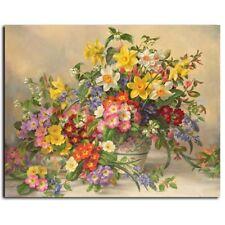 Paint By Numbers Kit Various Color Home Flowers Pot DIY Picture 40x50cm Canvas