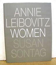 Annie Leibovitz Women Susan Sontag 1999 HB/DJ First Edition, First Printing