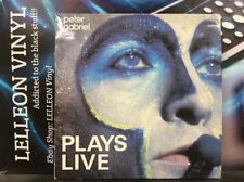 Peter Gabriel Plays Live Double LP Album Vinyl Record PGDL1 Pop 80's