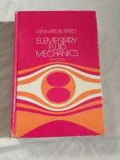 Elementary Fluid Mechanics Vennard Street Fifth Edition 1975 John Wiley & Sons