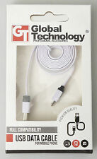 PRL) CAVO USB DATA CABLE microUSB FLAT PC MOBILE PHONE CELLULARE PHONEBOOK GT