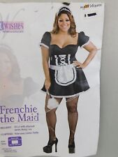 Frenchie Womens Sexy French Maid Halloween Cosplay Costume 14-16 Plus Size #7304