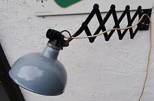 Vintage orign. Rademacher Lampe Bauhaus Art Deko Leuchte Loft Scherenlampe ~30er