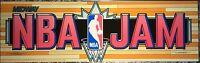 "NBA Jam Dedicated Arcade Marquee 25"" x 7.5"""