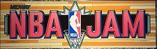 """NBA Jam Arcade Marquee 26""""x8"""""""