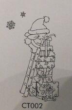 Tempo di Natale-Pacco Mountain-Nellie Snellen Nellie's aggrapparsi Stamp ct002