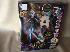 Monster High Abby Bominable 13 Wishes 2012 NRFB ! WOW! Look!