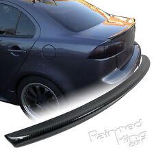 --Carbon Fiber Mitsubishi EVO X Evolution 10 Boot Spoiler Trunk Wing