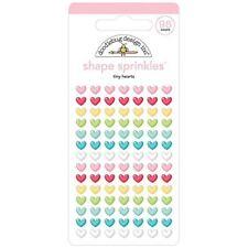 Doodlebug Sprinkles Adhesive Glossy Enamel Shapes 98/pkg-tiny Hearts - Tiny 5834