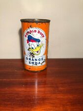 DONALD DUCK ORANGE SODA CAN FROM ST PAUL MN.