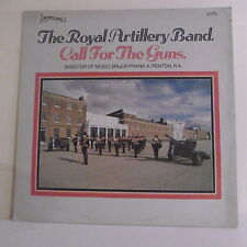 "33T THE ROYAL ARTILLERY BAND Disque LP 12"" CALL FOR THE GUNS - BANDLEADER 1021"