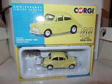 Corgi Vanguards VA05808 Morris Minor 1000 Highway Yellow 60th Anniversary