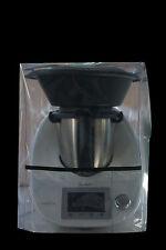 HOUSSE DE PROTECTION THERMOMIX TM5/TM31 Avec Varoma Transparente Biais Noir