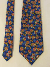 cravate vintage andré claude canova (pour relais et châteaux)soie