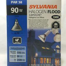 Halogen Spot Light 90Par38 Cap/Spl/Fl30 120 Volts 90 Watts Par 38 Sylvania