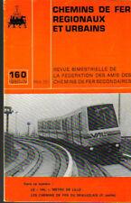 Chemins de fer régionaux et urbains  F.A.C.S N° 160 1980 IV