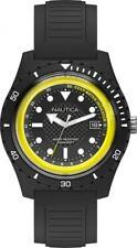 Orologio Uomo Nautica Scuba Depth Guide Nero/giallo Apnea Diver Profondimetro