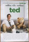 Внешний вид - TED MOVIE POSTER 2 Sided ORIGINAL Advance Ver B Credits 27x40 MARK WAHLBERG