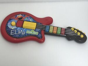 Hasbro Playskool Sesame Street Red Elmo Guitar Instrument Interactive Music 2010