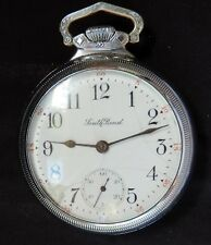 RARE 18S SOUTHBEND STUDEBAKER POCKET WATCH - 21 JEWELS - 5 POSITION -329 WORKING