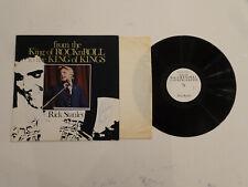 VG++/NM- SIGNED! Rick Stanley (Elvis Presley Stepbrother) King Of Rock N Roll LP