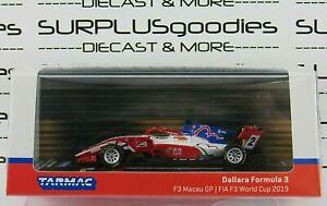 Tarmac Works 2021 Hobby64 2019 DALLARA FORMULA 3 Macau Grand Prix F3 FIA Race