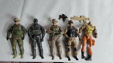 BBI Elite Force GI Joe Roadblock figure soldiers lot Guns 34